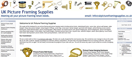 UK Picture Framing Supplies
