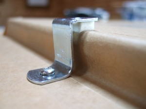 offset clamp with padding