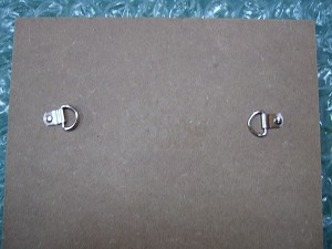 D-Rings attached by Bifurcated Rivets