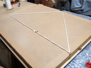 Frame finishing with D-Rings, low stretch picture cord and felt pads