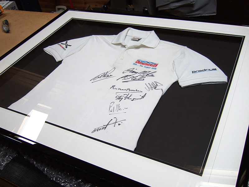A 3D Box Frame for Framing a Sports Shirt | UK Picture Framing ...