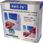 Self adhesive ph7-70 conservation mounting tape