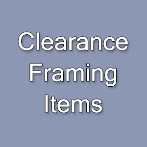 clearance framing items