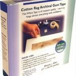 Cotton rag tape