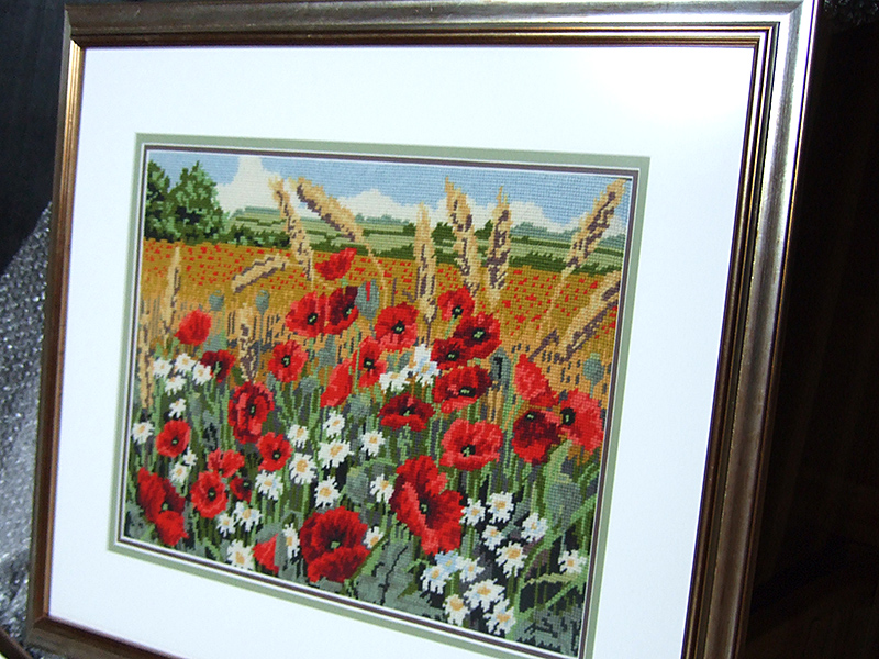 Mounting and framing needlework – a tapestry | UK Picture Framing ...