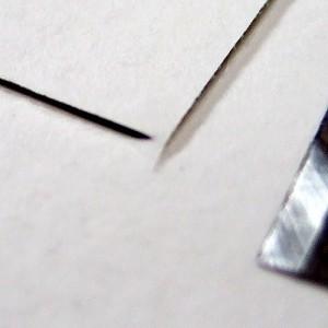 Under cut picture mount
