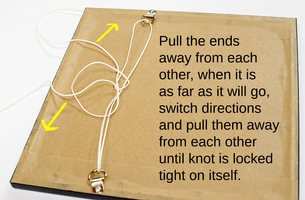 How To Tie A Picture Framing Knot
